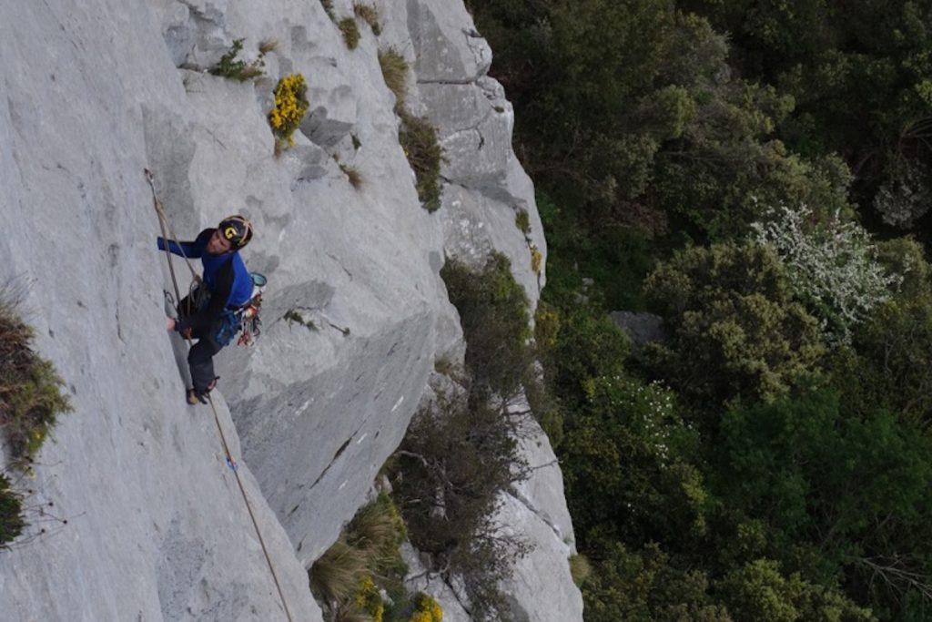 A 7a on Cerro Agero. Picos Du Europa.