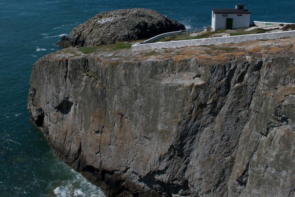 Home of some of the boldest routes at Gogarth, North Stack Wall both scares and excites most climbers!