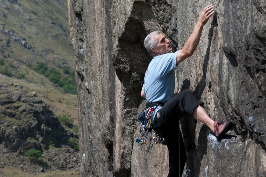 Nick Colton on Slape Direct a tricky E1 that see';s a lot of falls!