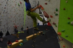 Learning to Big Wall at the Beacon Climbing Centre.
