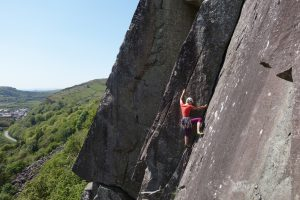 Lead Climbing Coaching on Scratch, VS, Tremadog.