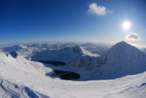 Snowdon looking amazing in Winter Conditions back in 2010.