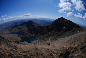 Snowdon on a fine summers days.