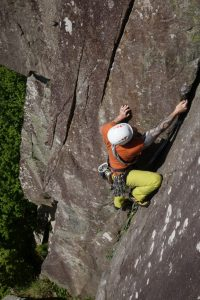 Lead Climb Coaching on Scratch, VS, Pant Ifan, tremadog