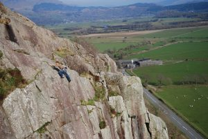 Stuart MacAleese on Shadrach, tremadog