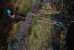 Learning to Haul on our Big Wal Climbing Courses
