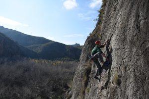 Aqui Se Atasca La Baska a classic 5c at Chodes
