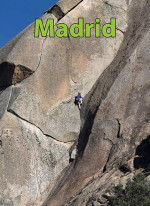 Madrid App guidebook for rock climbing