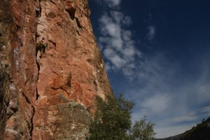 The amazing 6c crack in Chulilla, this was more of a bolted trad route, which if you can jam feels like 6b.
