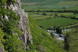 Ian hey on the strange ways Buttress a rather esoteric crag at tremadog but Hollow/Crocodillo are real gems.