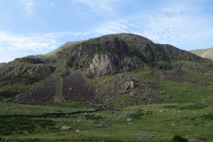The amazing selection of crags on Dinas Mot.
