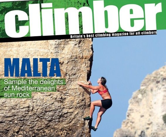 New Role as Coaching Columnist in Climber Magazine